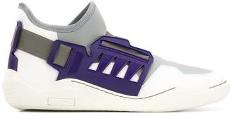 Lanvin panelled sneakers