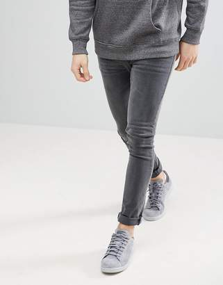 Asos DESIGN super skinny jeans in gray