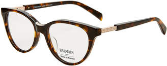 Balmain BL1076 Tortoiseshell-Look Cat Eye Optical Frames