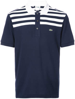 Lacoste striped top polo shirt