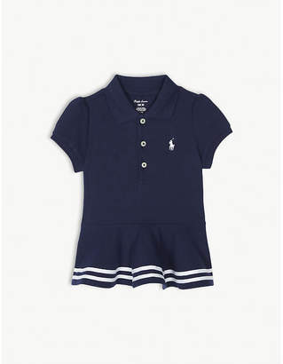 Ralph Lauren Striped cap sleeve cotton dress 9-24 months