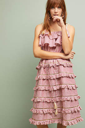 MISA Carson Tiered Dress