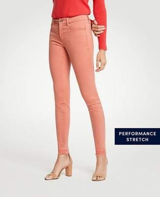 Ann Taylor Modern Raw Hem All Day Skinny Jeans