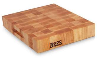 "John Boos & Co End-Grain Maple Reversible Chopping Block, 18"" x 18"""