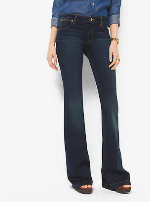 Michael Kors Selma Stretch-Denim Flares