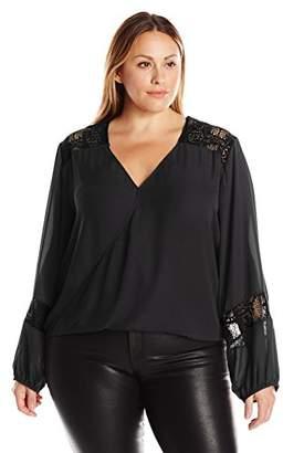 Single Dress Women's Plus Size Leona Blouse $36.38 thestylecure.com