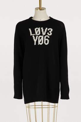 RED Valentino Love wool sweater
