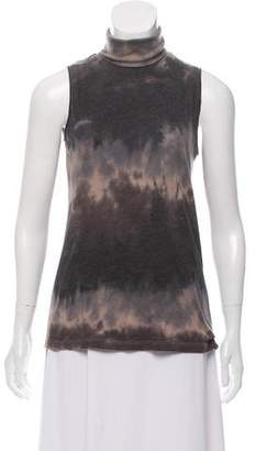 d76f6c1fddd9fa Pre-Owned at TheRealReal · Raquel Allegra Sleeveless Tie-Dye Turtleneck
