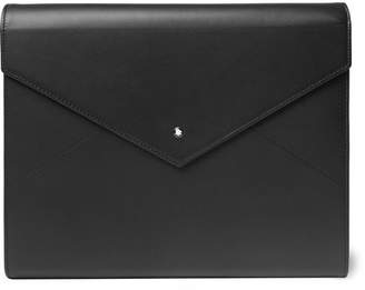 Montblanc Augmented Paper Leather Writing Set - Black