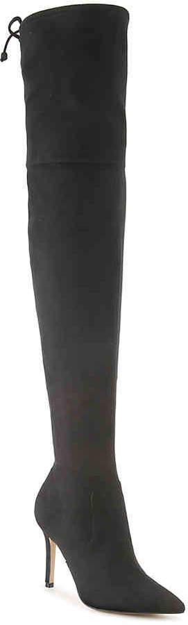 Women's Fraresa Over The Knee Boot -Black
