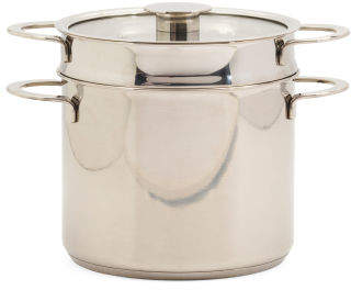 Stainless Steel 6.6qt Gourmet Pasta Set