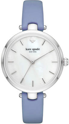 Blue and stainless holland watch $150 thestylecure.com