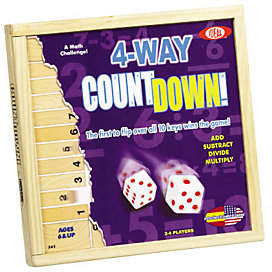 Ideal Toys Ideal 4-Way CountDown Game