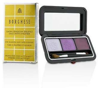 Borghese NEW Eye Shadow Duo With Eyeliner - # 02 Venetian Violet 4.15g Womens