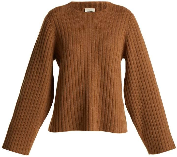 KHAITE Loretta cashmere sweater