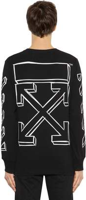 Off-White Marker Arrows Jersey Long Sleeve T-Shirt