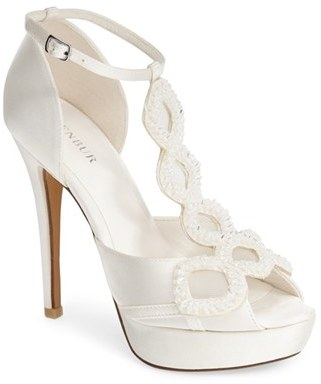 Women's Menbur 'Rita' Satin Platform Sandal $258.95 thestylecure.com