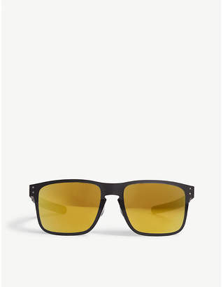 Oakley OO4123-2055 Holbrook Metal square-frame sunglasses