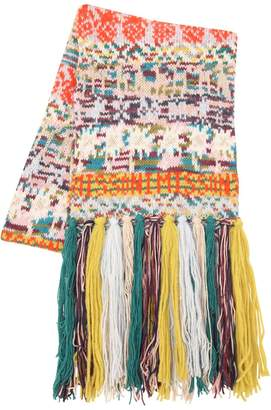 Missoni Cashmere Blend Knit Scarf