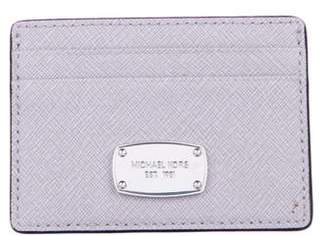 Michael Kors Leather Square Cardholder