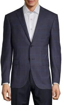 Corneliani Windowpane Notch Sportcoat