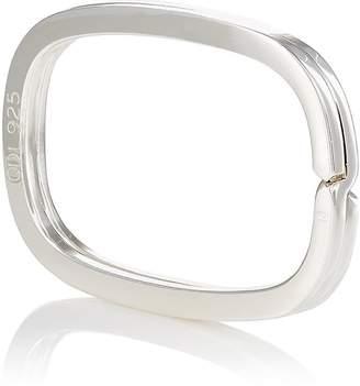 Barneys New York Men's Sterling Silver Oval Key Ring