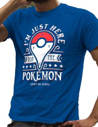 Pokemon LeRage Shirts I'm Just Here for The Poke Leave Me Alone Men's