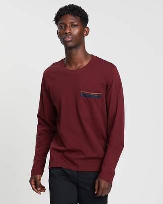 Cerruti Satin Lined Patch Pocket T-Shirt