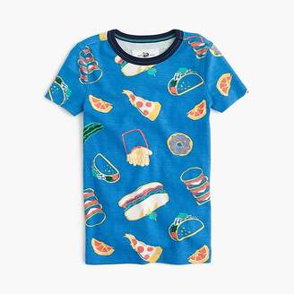 J.Crew Kids' short pajama set in pizza party