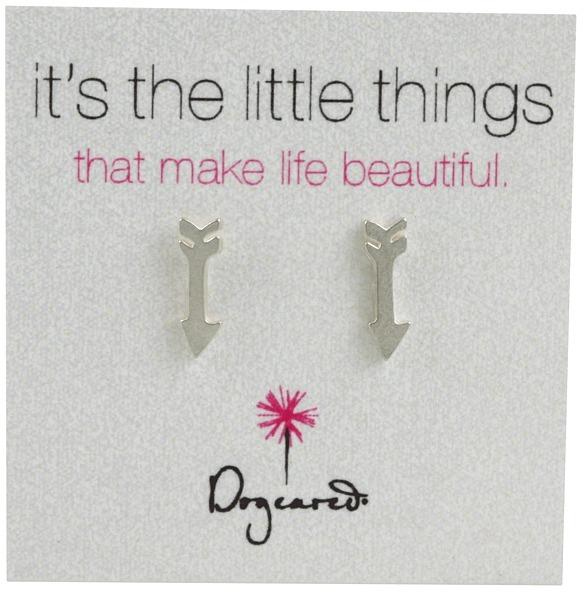 Dogeared It's The Little Things Arrow (Sterling Silver) - Jewelry
