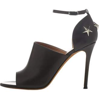 Givenchy Black Leather Heels