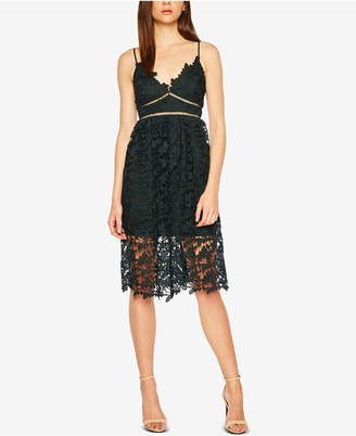 Bardot Sonya Lace Fit & Flare Dress