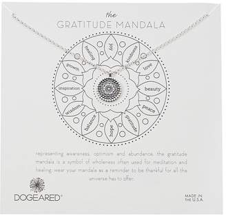 Dogeared The Gratitude Small Center Flower Mandala Necklace Necklace
