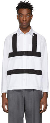 Craig Green White and Black Harness Shirt