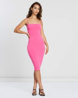 Nookie Charlize Strap Midi Dress