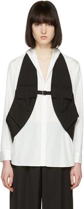 Yohji Yamamoto Black Linen Vest $860 thestylecure.com
