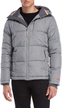 Superdry Hooded Quilted Puffer Coat