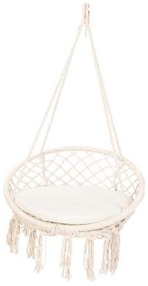 Tropicana Hammocks Macrame Outdoor Hanging Chair