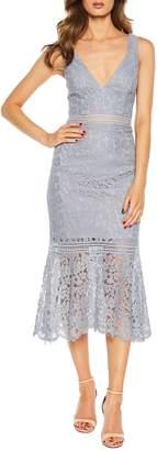 Bardot Sienna Lace Trumpet Dress