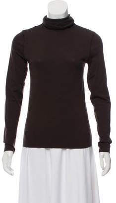 Wolford Wool-Blend Turtleneck Top