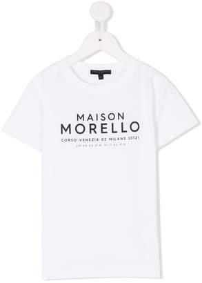 Frankie Morello Kids logo printed T-shirt