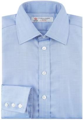 Turnbull & Asser Herringbone Formal Shirt