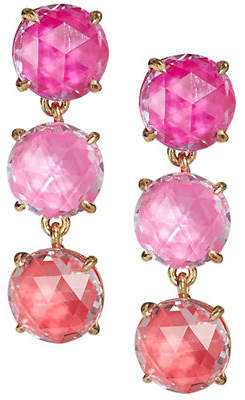 Kate Spade Bright Ideas Crystal Triple Drop Earrings