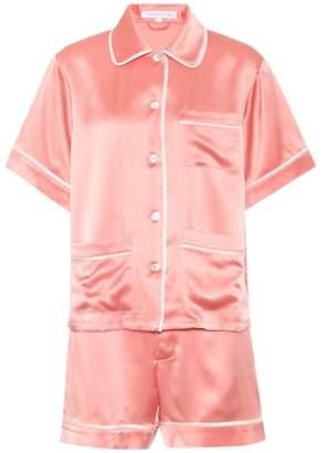 Olivia von Halle Millicent silk pyjama set