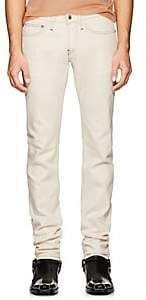 Helmut Lang Men's Low-Rise Skinny Jeans - White