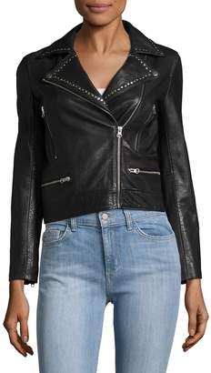 Manoush Women's Perfecto Leather Jacket