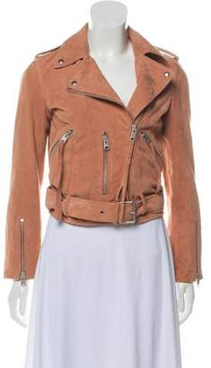 AllSaints Leather Casual Jacket