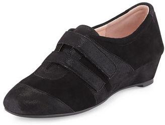 Taryn Rose Pople Sport Demi-Wedge Sneaker $245 thestylecure.com