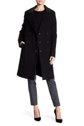 Elie Tahari Shayla Wool Coat