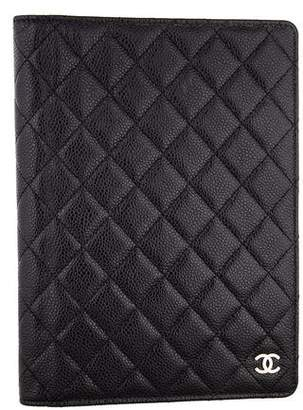 Chanel Quilted Caviar Agenda